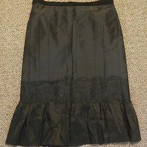 NWT Ann Taylor Loft black skirt